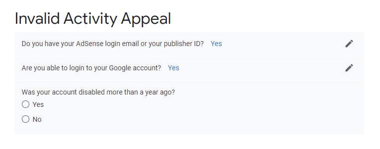 how to fill invalid traffic appeal form