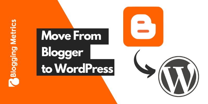 Move Blogger to WordPress