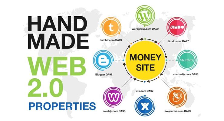 Web 2.0 backlinks in SEO