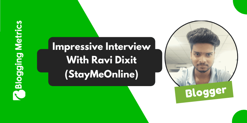 Interview With Ravi Dixit