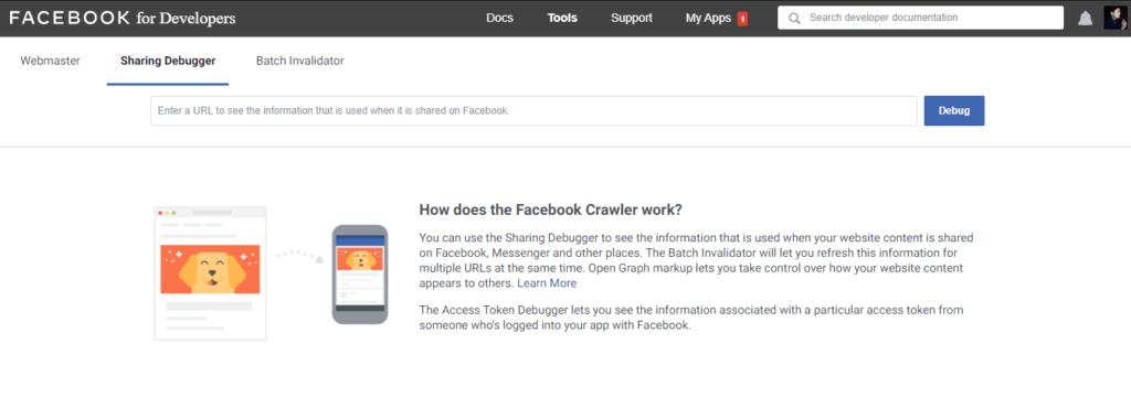 facebook developer tool