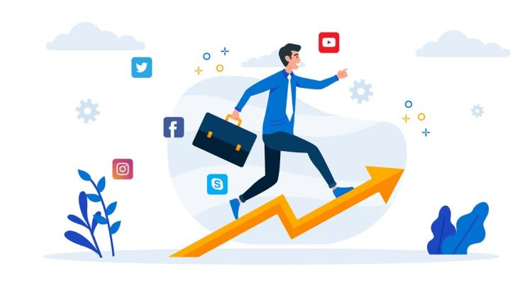 start an online business from social media